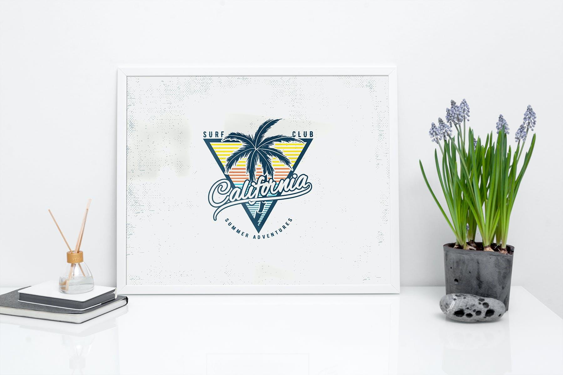 室内相片艺术品海报展示相框样机模板 Frame Mockup Home Style插图(5)