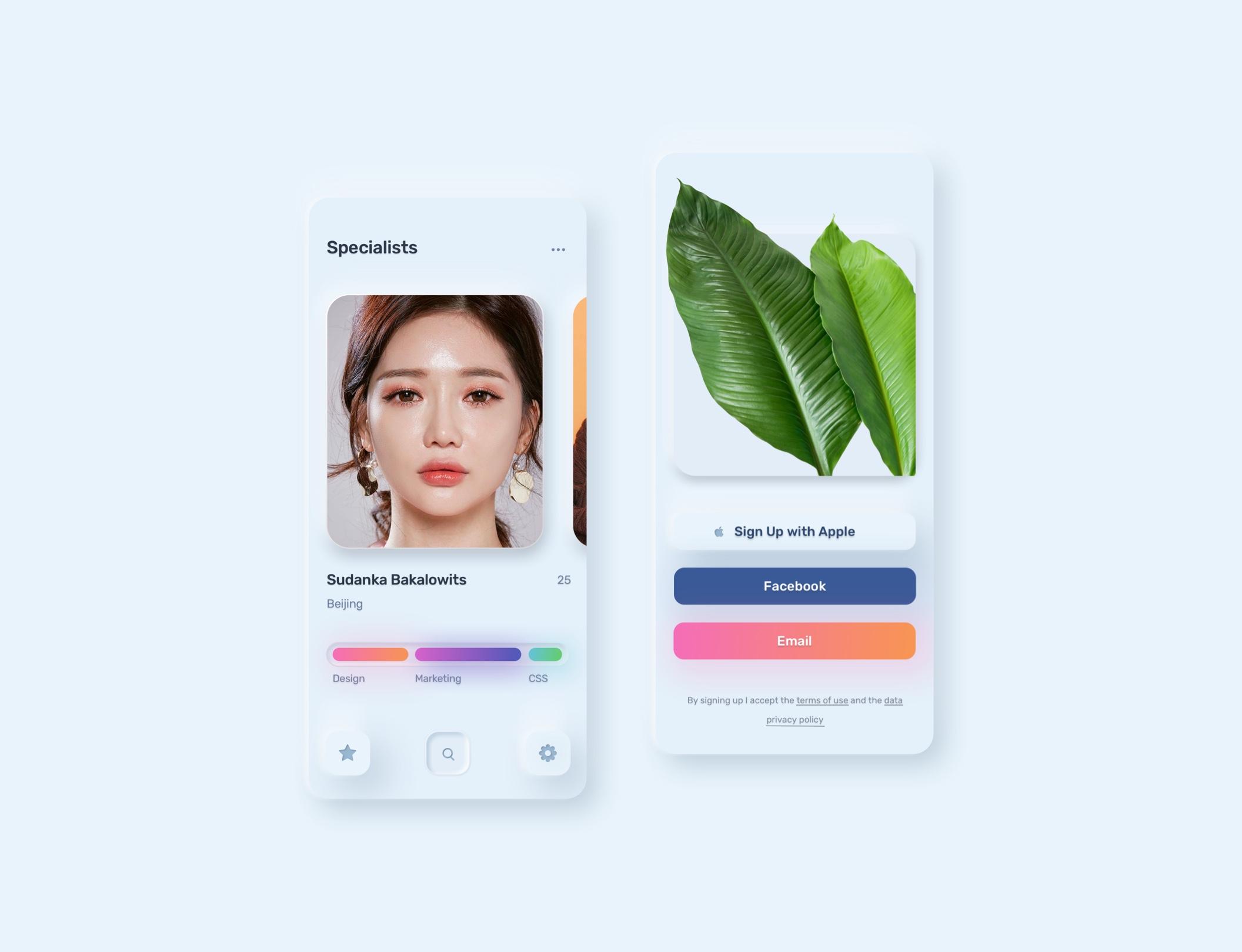 电商购物&金融类拟物化APP应用UI界面设计套件 Skeuomorph Ui Kit插图(18)