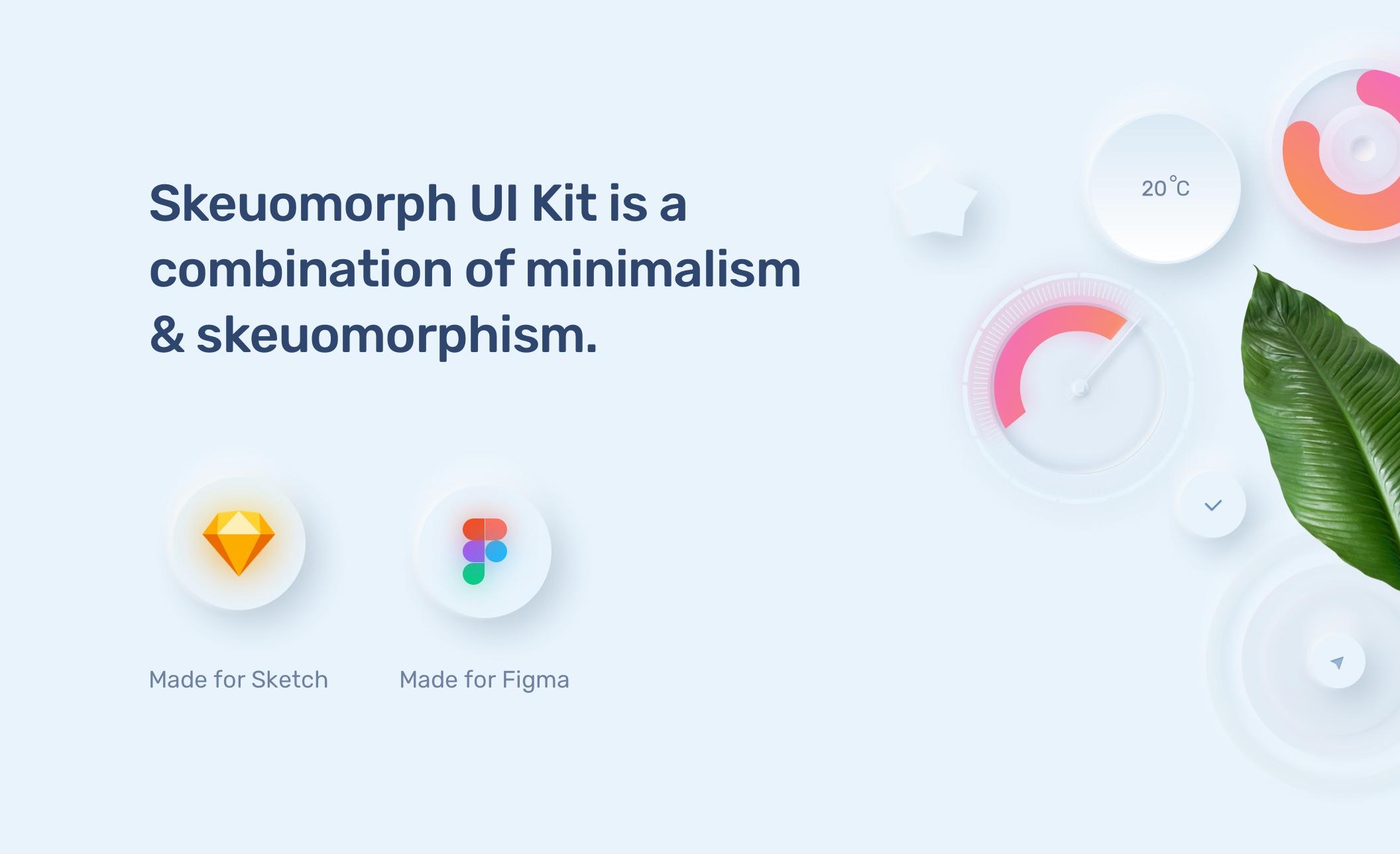 电商购物&金融类拟物化APP应用UI界面设计套件 Skeuomorph Ui Kit插图(15)