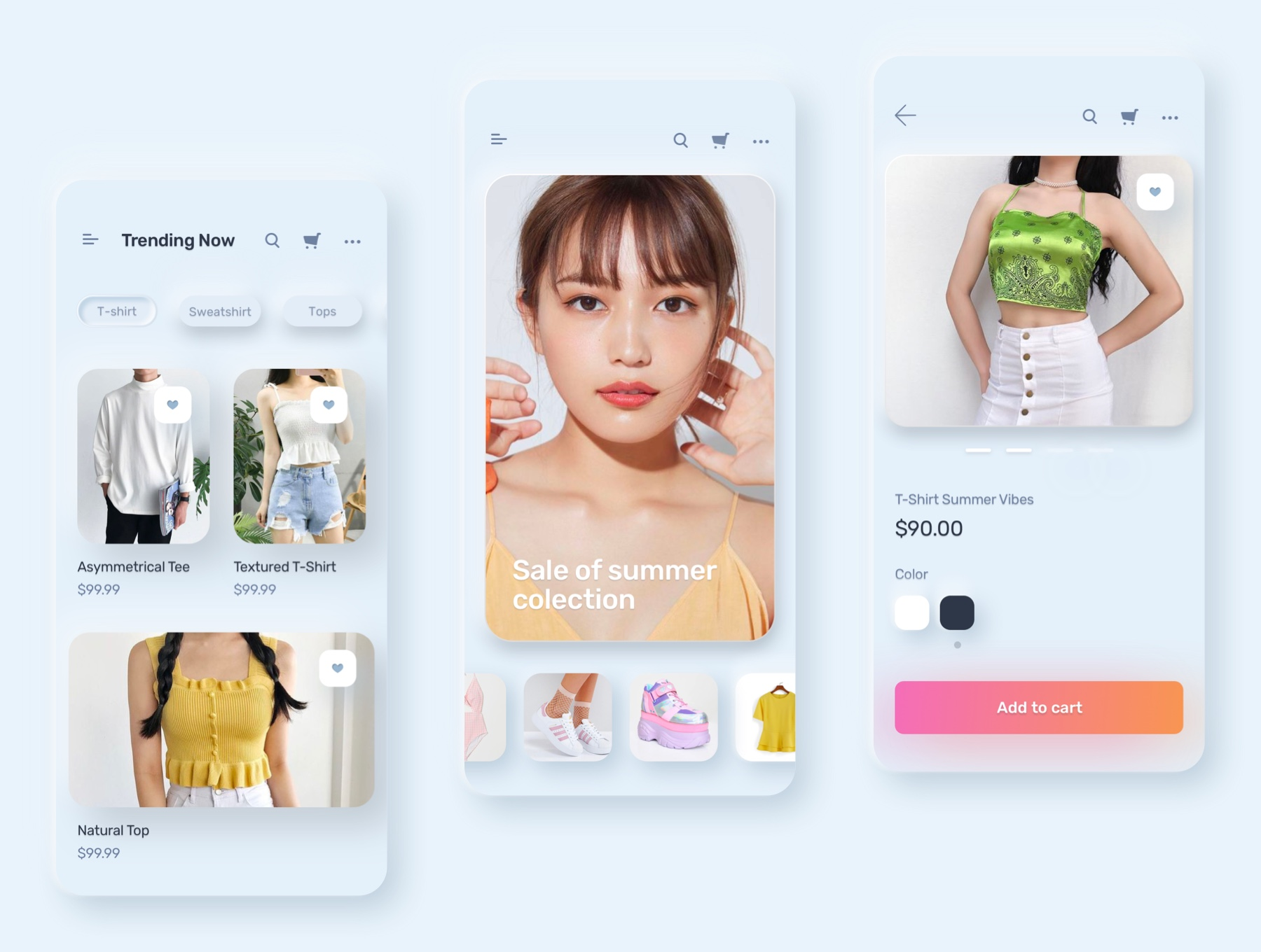 电商购物&金融类拟物化APP应用UI界面设计套件 Skeuomorph Ui Kit插图(7)