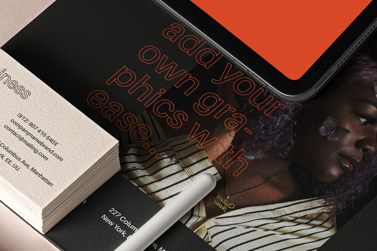 品牌VI设计办公用品/设备展示样机 Psd Stationery UI Device Mockup插图(2)