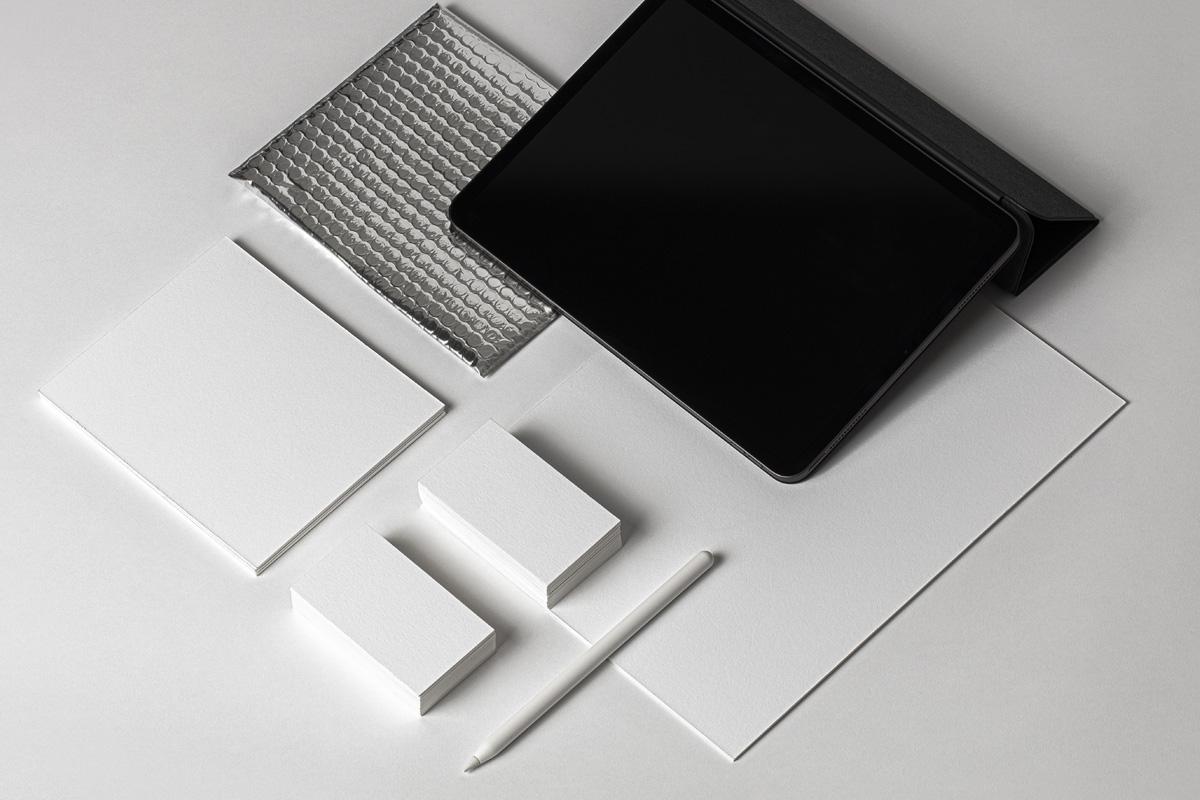 品牌VI设计办公用品/设备展示样机 Psd Stationery UI Device Mockup插图(5)