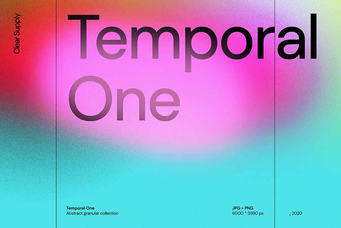 [淘宝购买] 13款高清时尚炫彩噪点流体渐变海报设计背景图片素材 Temporal One插图