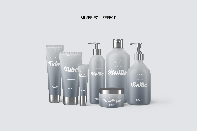 13款化妆品包装瓶设计展示样机模板 Cosmetic Mockup Set插图(2)