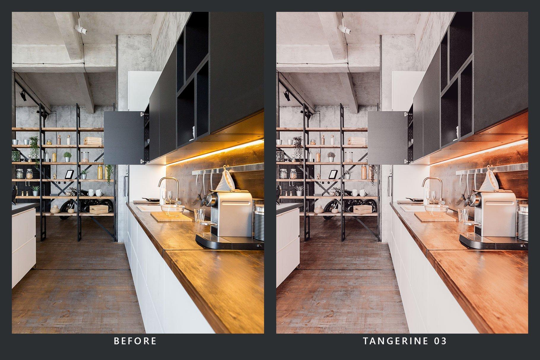 橘黄色滤镜摄影照片后期调色LR预设 Orange Dream Lightroom Presets & LUT插图(3)