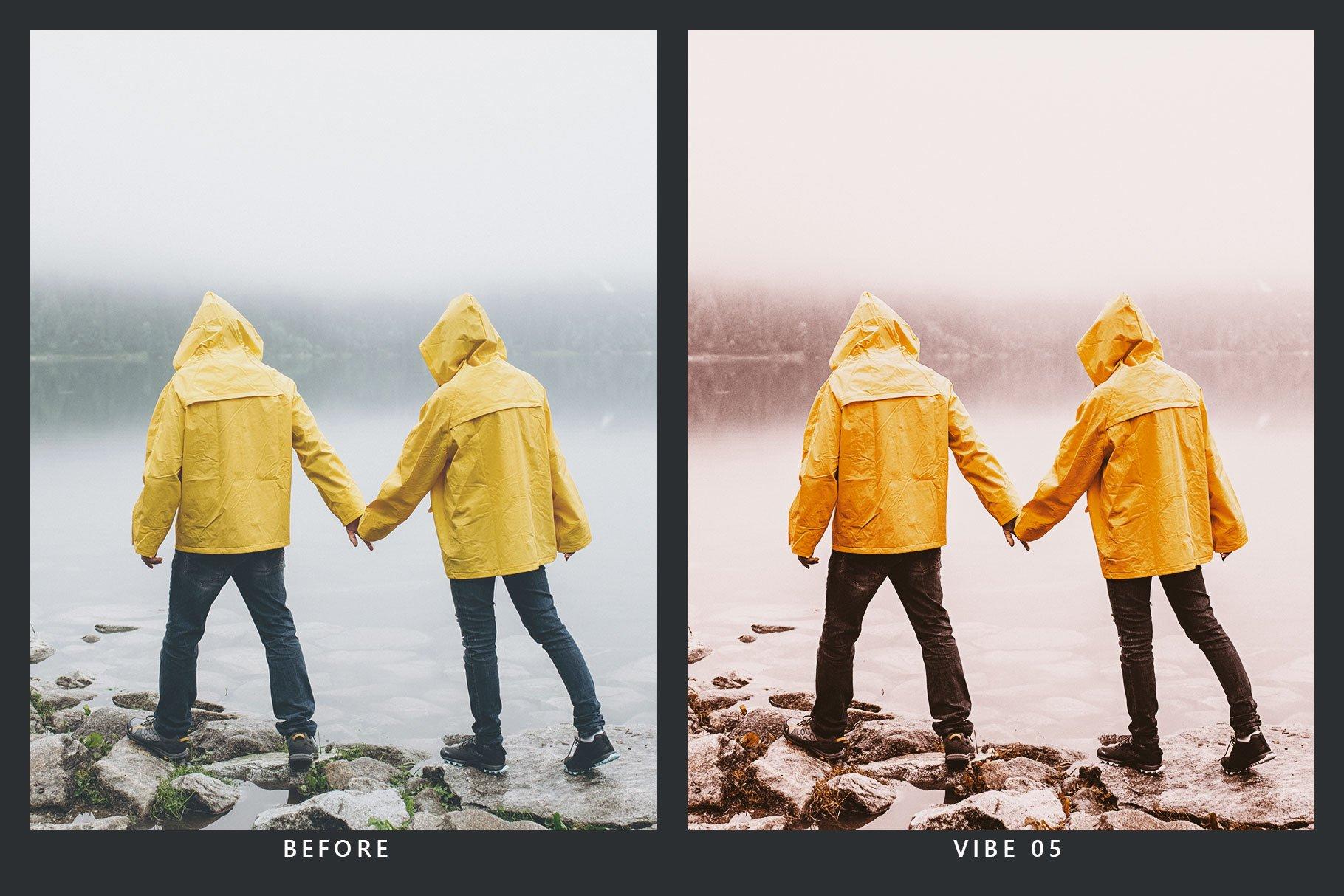 橘黄色滤镜摄影照片后期调色LR预设 Orange Dream Lightroom Presets & LUT插图(4)