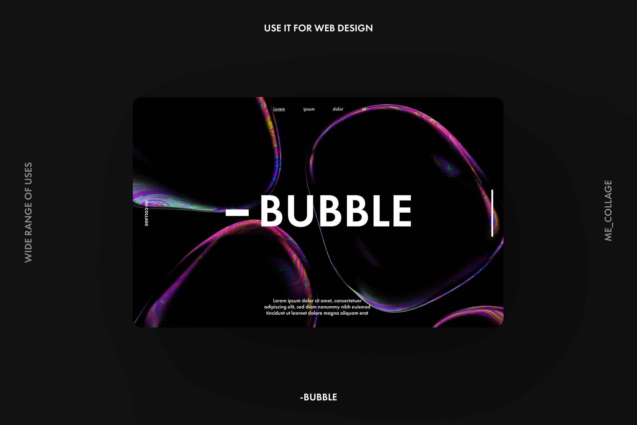[已解锁精品素材] 高清炫彩抽象透明肥皂气泡海报背景底纹素材 BUBBLE – 15 Soap Bubbles插图6