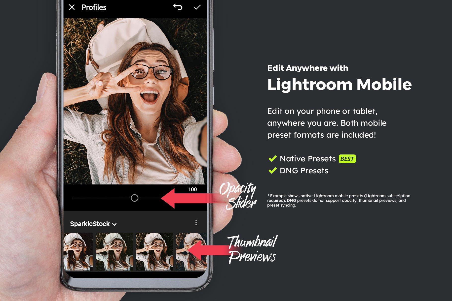 20款复古电影淡褐色照片调色LR预设模板 20 Mint Lightroom Presets and LUTs插图(5)