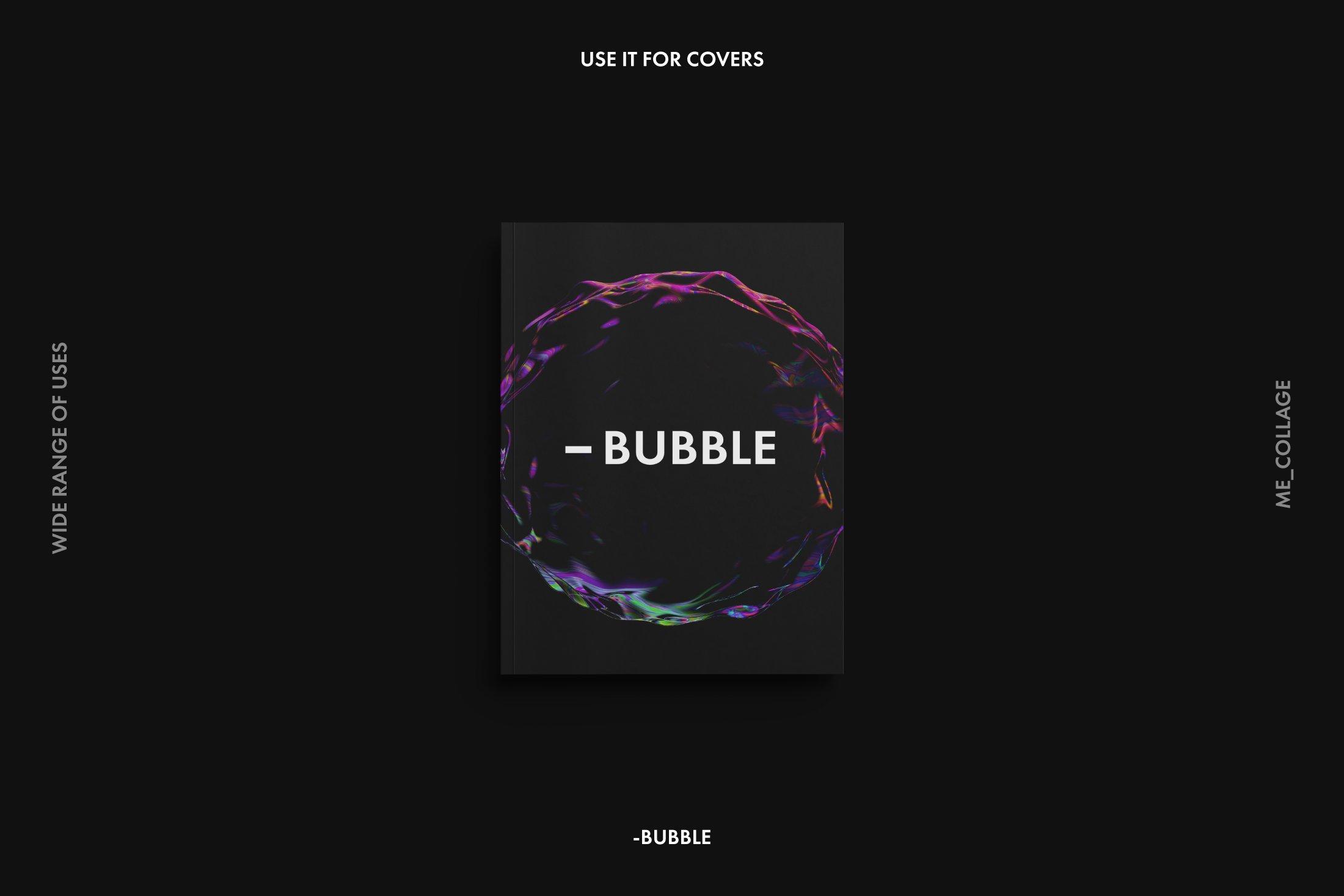[淘宝购买] 高清炫彩抽象透明肥皂气泡海报背景底纹素材 BUBBLE – 15 Soap Bubbles插图(7)