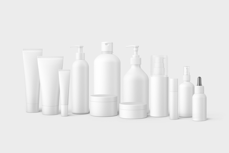 13款化妆品包装瓶设计展示样机模板 Cosmetic Mockup Set插图(8)