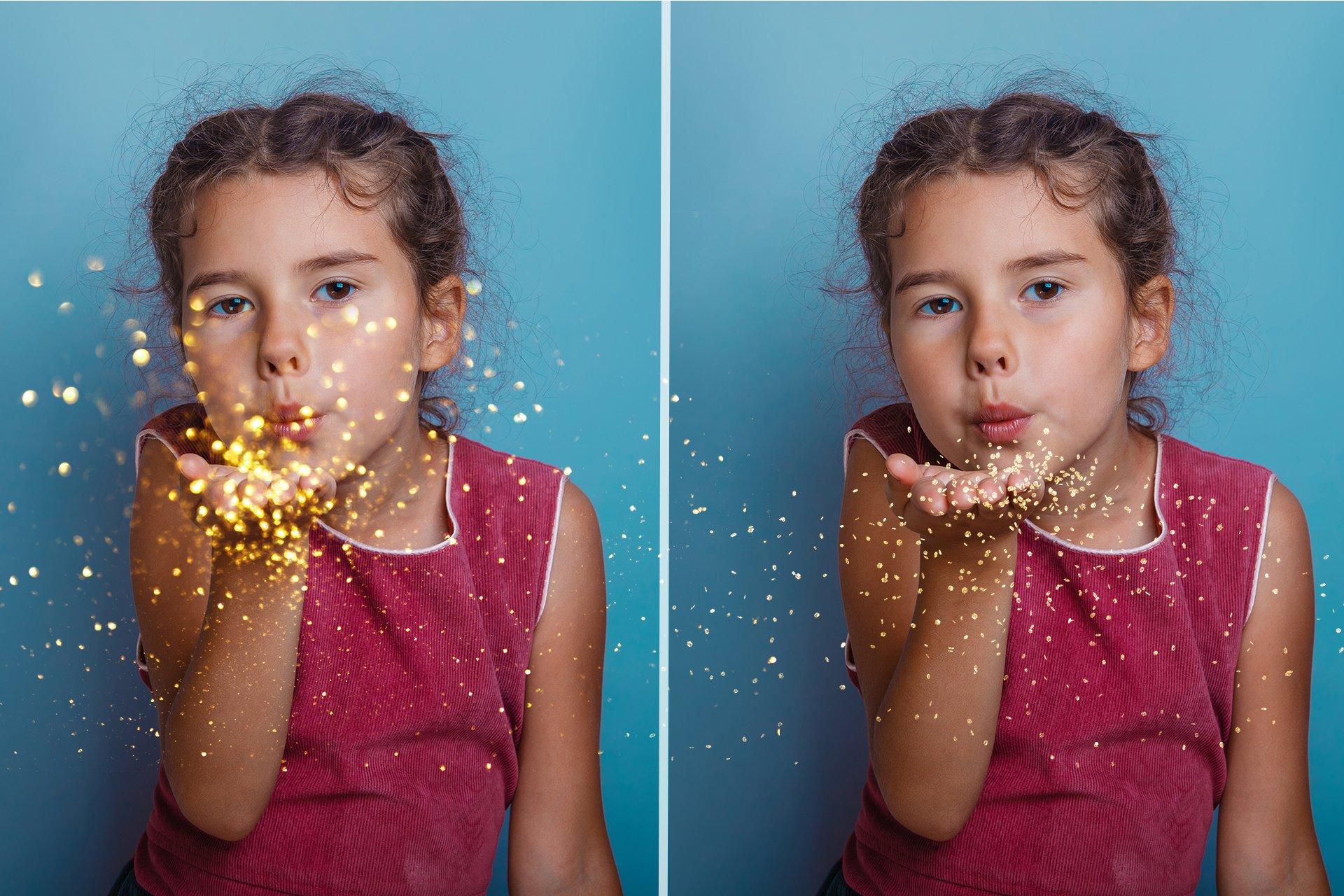 33款高清吹闪光照片叠加层JPG图片素材29 Blowing Glitter Photo Overlays插图(5)
