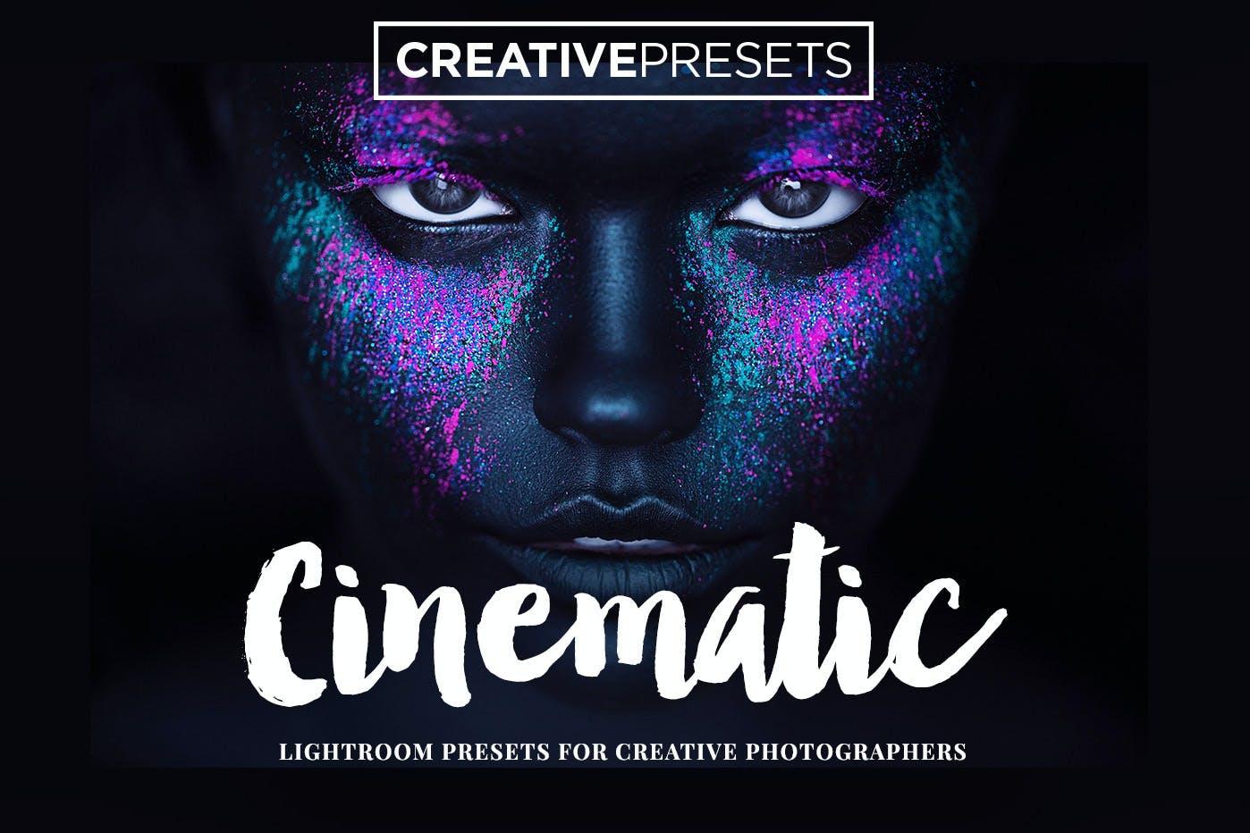 20种电影效果摄影照片调色LR预设 Cinematic Lightroom Presets插图