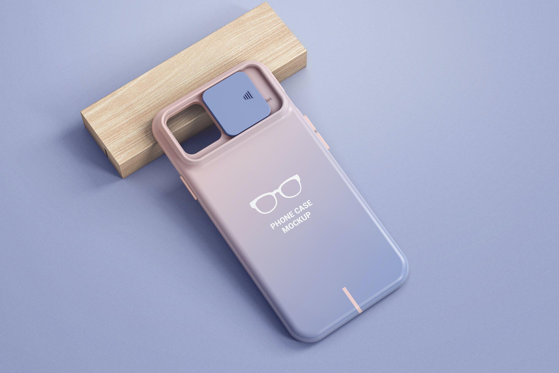 智能手机外壳印花设计展示样机 Phone Case Mockup插图
