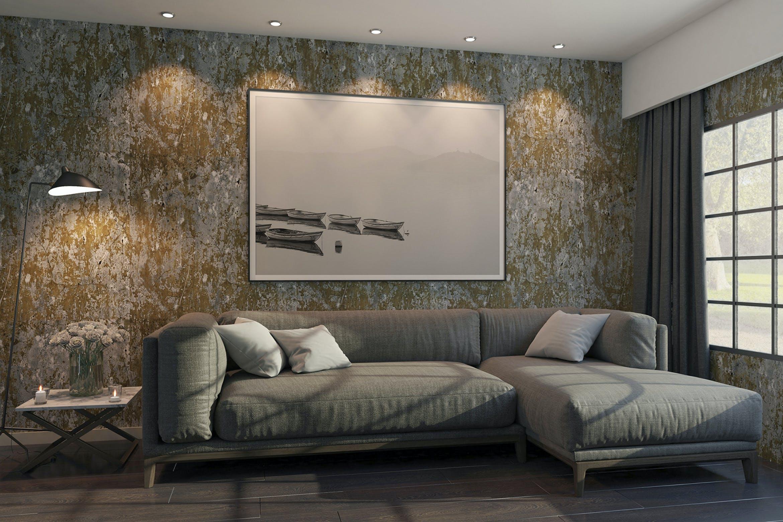 6款室内海报艺术品相片展示样机模板 Elegant Scene Mockups插图
