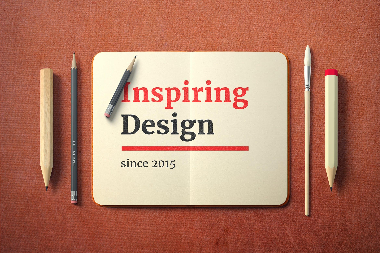 简约徽标LOGO设计展示样机 Simple Logo Mockup插图