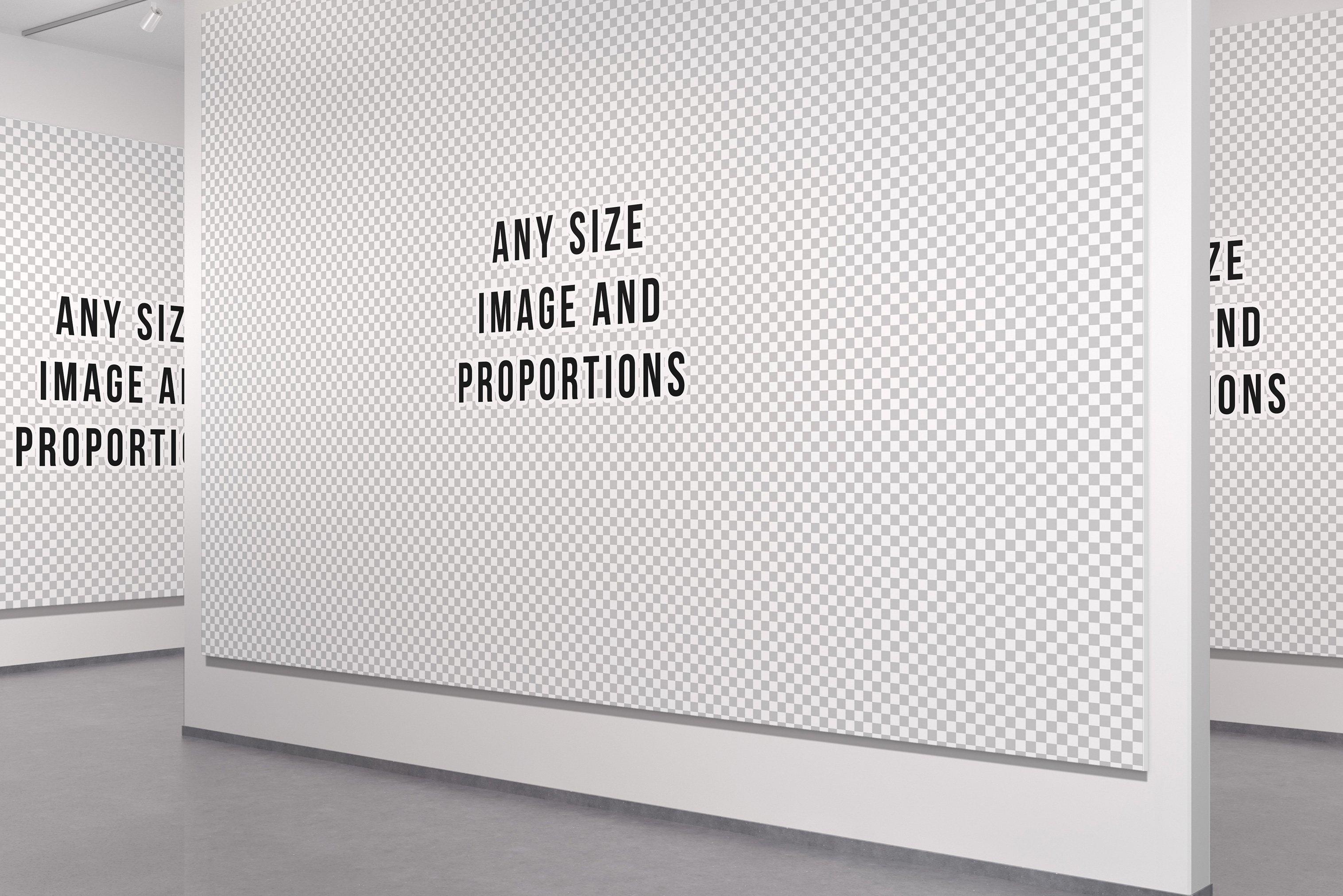 美术馆绘画艺术品相片展示样机模板 Art Gallery Mockup插图(9)