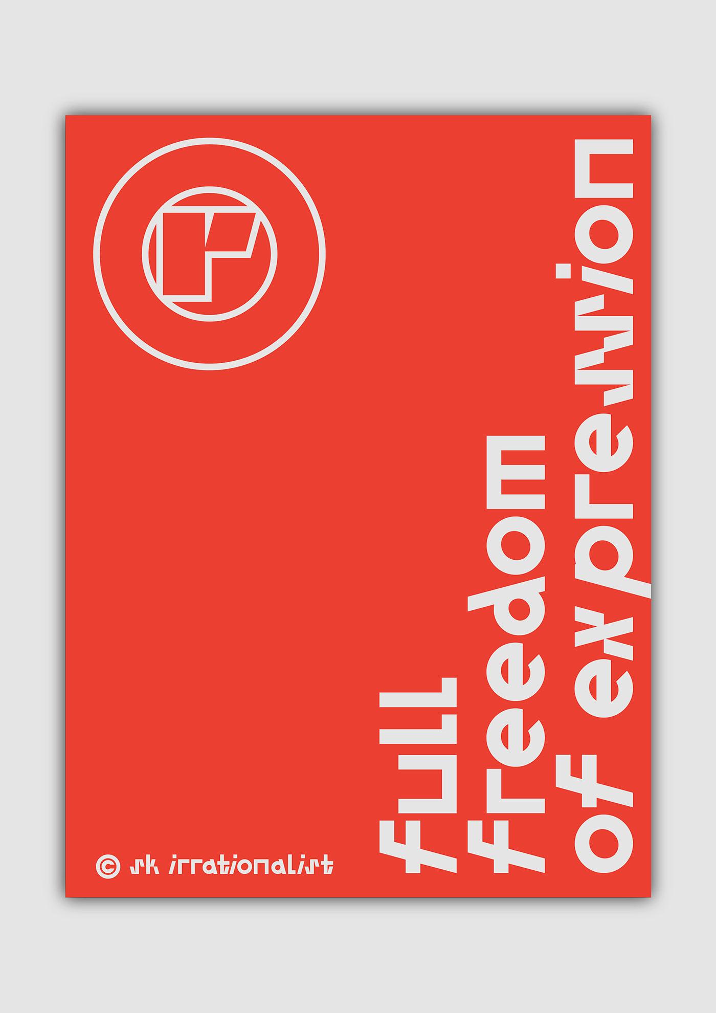 时尚艺术装饰英文字体下载 SK Irrationalist Personal License插图(9)