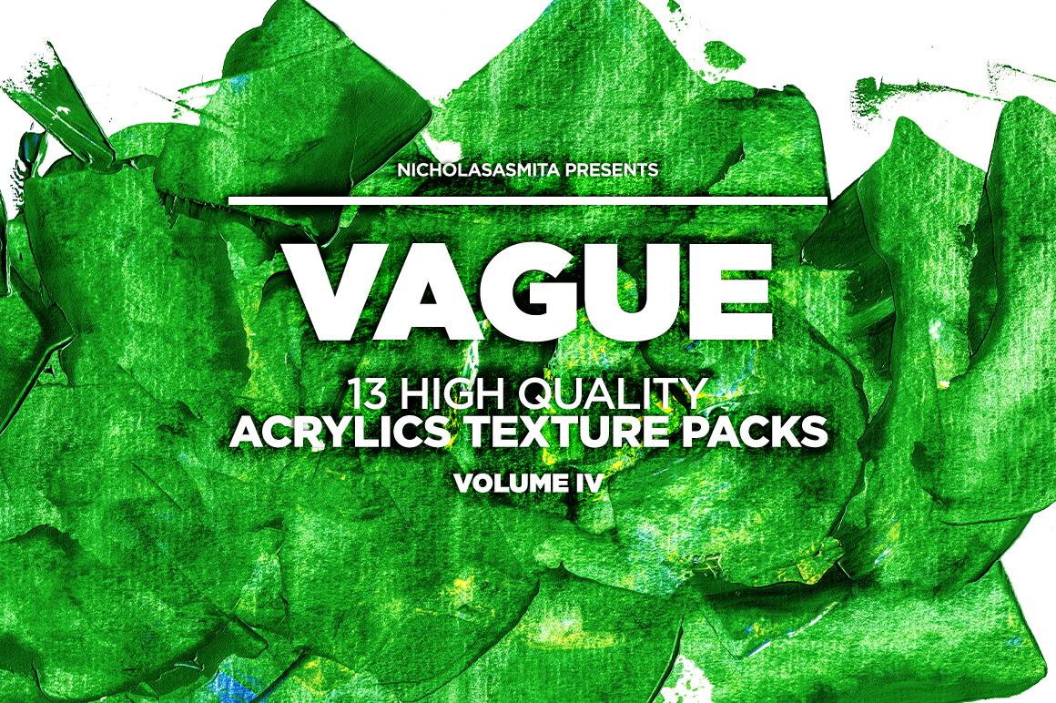 13款高清抽象丙烯酸涂料背景纹理图片素材 Vague IV: 13 Acrylics Textures插图(5)