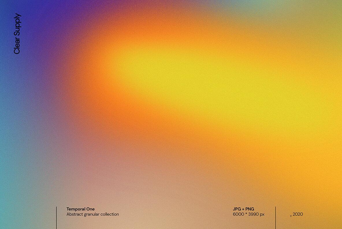 [淘宝购买] 13款高清时尚炫彩噪点流体渐变海报设计背景图片素材 Temporal One插图(9)