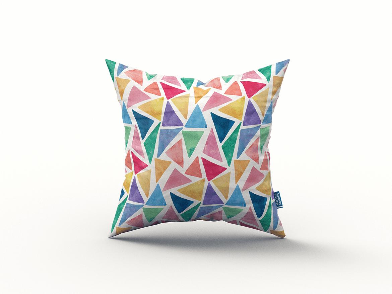 9款方形抱枕枕头靠垫设计展示样机 Square Pillow / Cushion MockUp插图(9)
