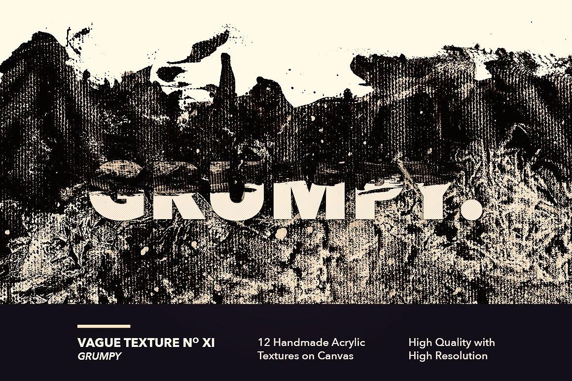 12款高清抽象炫彩丙烯酸涂料海报设计背景纹理图片素材 Vague I: 12 Acrylics Textures插图(11)