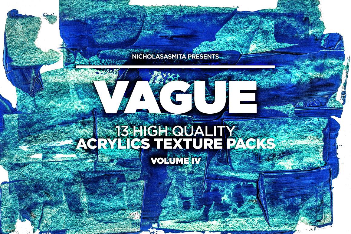 13款高清抽象丙烯酸涂料背景纹理图片素材 Vague IV: 13 Acrylics Textures插图(4)
