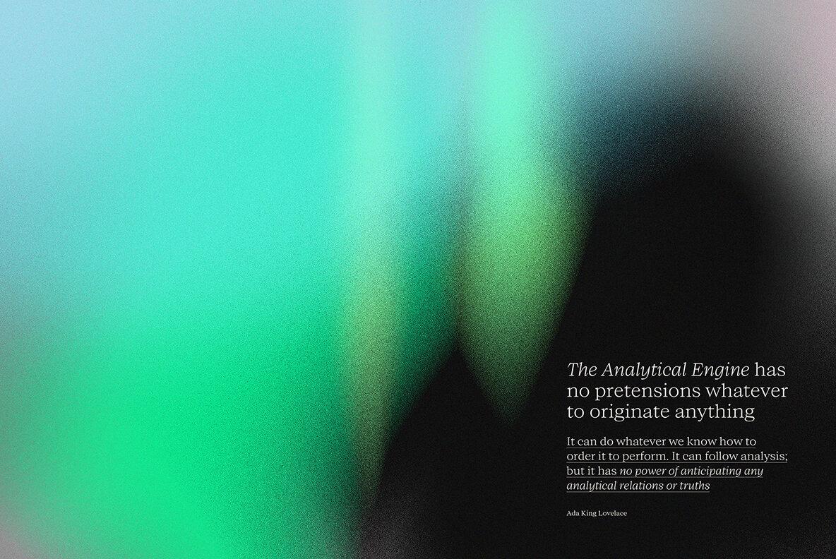 [淘宝购买] 13款高清时尚炫彩噪点流体渐变海报设计背景图片素材 Temporal One插图(10)