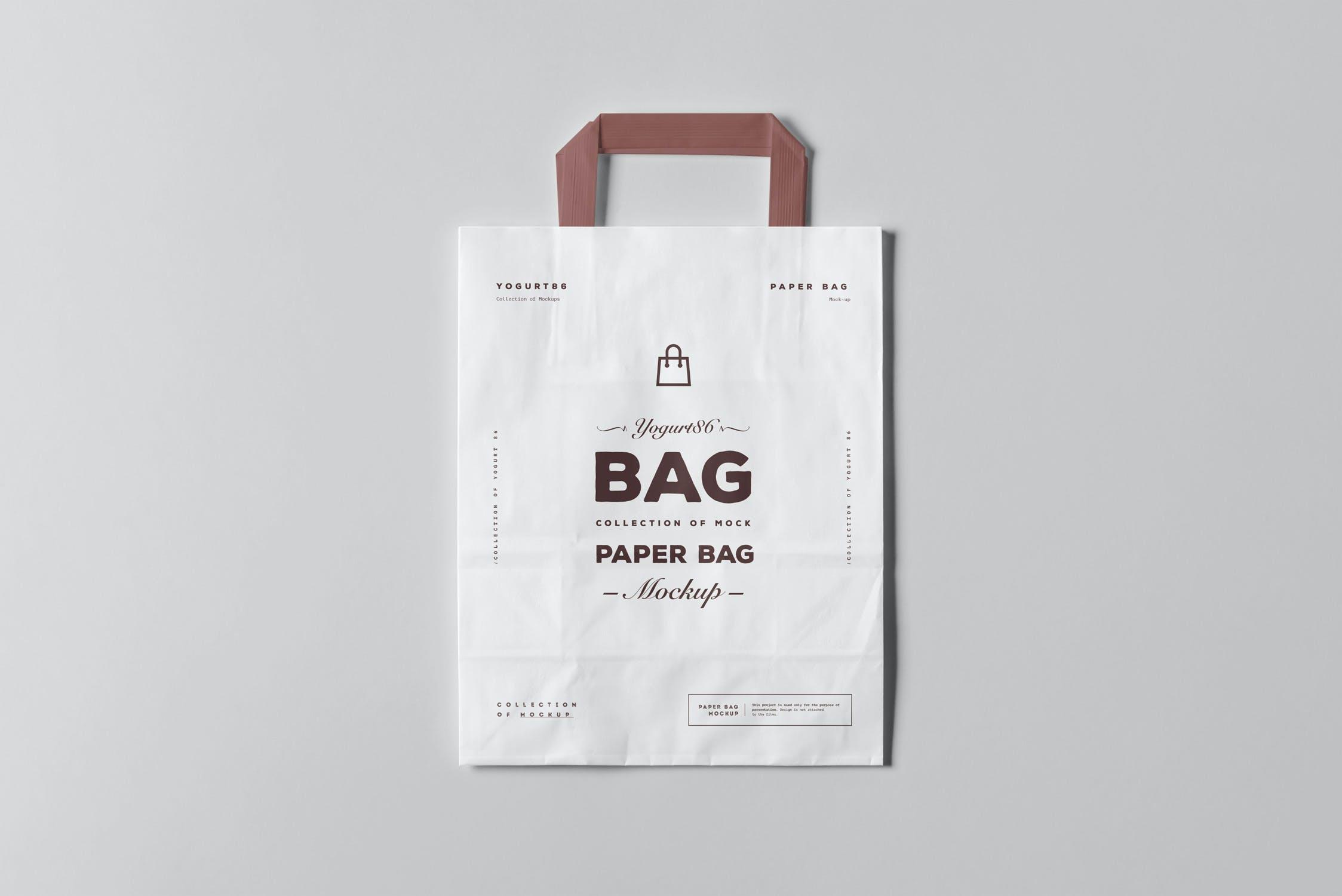 11款商城购物手提纸袋设计展示样机 Paper Bag Mockup 3插图(11)