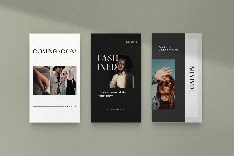 时尚服装品牌摄影推广新媒体海报设计PSD模板 MAGZ – Fashion Brand Social Media插图(12)