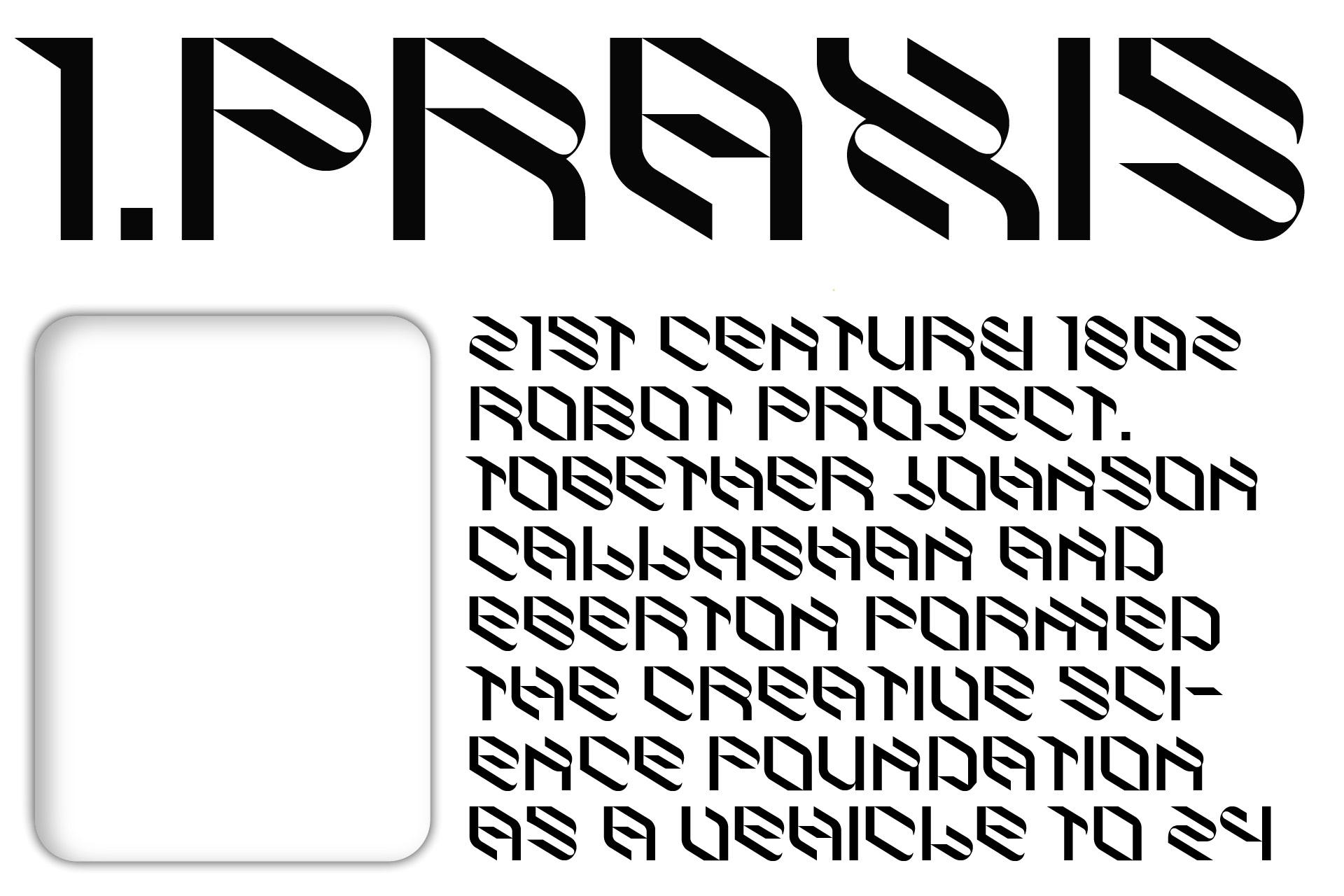 倾斜对角线英文字体下载 Eskos Typeface插图(13)