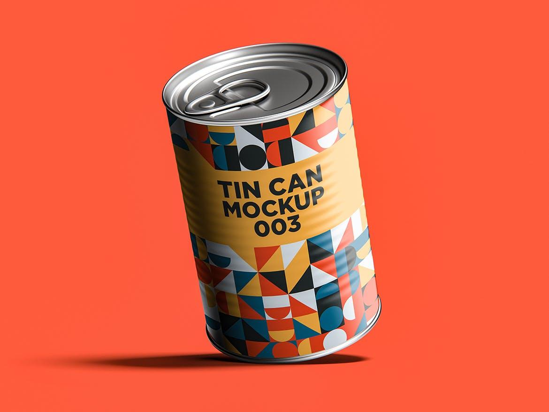 12款食品罐头易拉罐锡罐外观设计展示样机模板 Tin Can Mockup Set插图(13)
