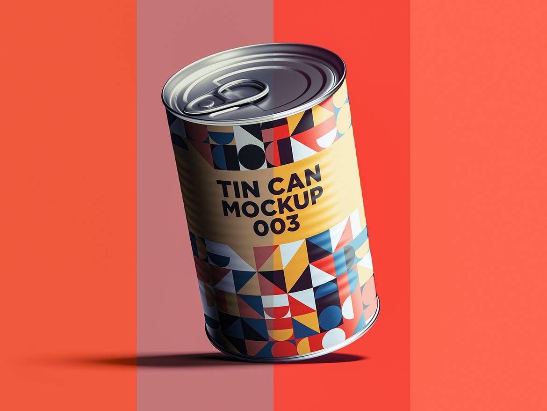 12款食品罐头易拉罐锡罐外观设计展示样机模板 Tin Can Mockup Set插图(14)