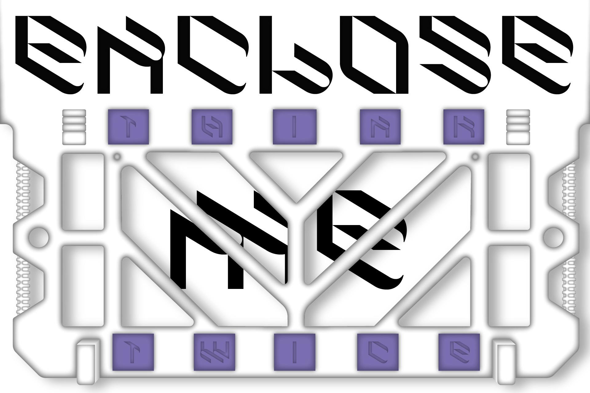 倾斜对角线英文字体下载 Eskos Typeface插图(14)