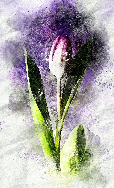 逼真铅笔素描水彩画效果照片处理特效PS动作 Pencil Watercolor Photoshop Action插图(15)