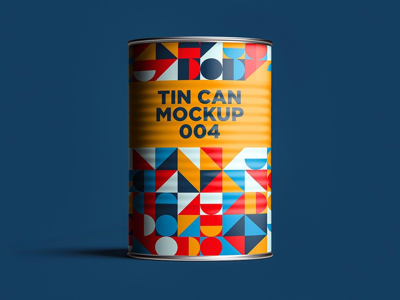 12款食品罐头易拉罐锡罐外观设计展示样机模板 Tin Can Mockup Set插图(17)