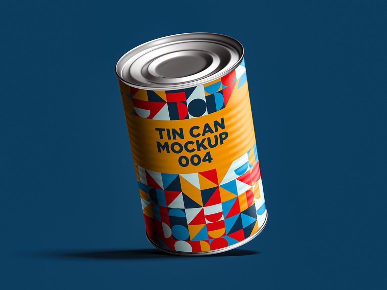 12款食品罐头易拉罐锡罐外观设计展示样机模板 Tin Can Mockup Set插图(18)