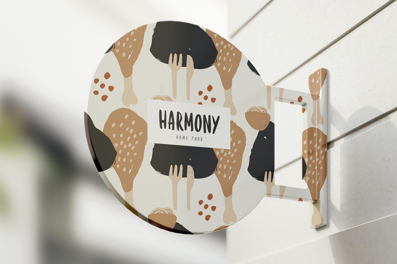 80多个抽象手绘食物包装印花矢量图案素材 Food Abstract Backgrounds & Patterns插图(1)