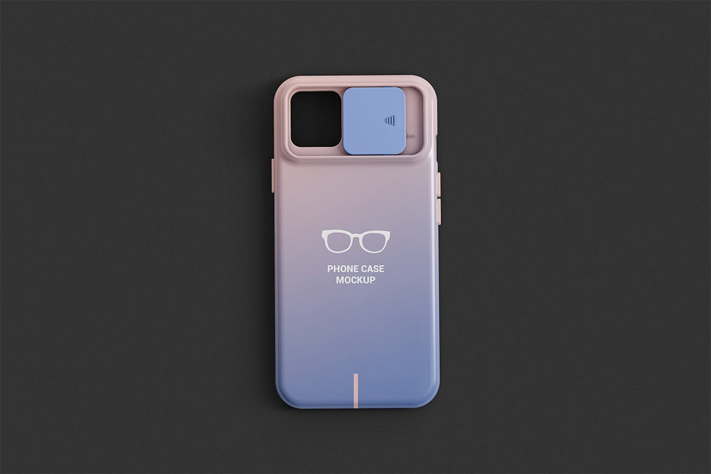 智能手机外壳印花设计展示样机 Phone Case Mockup插图(1)