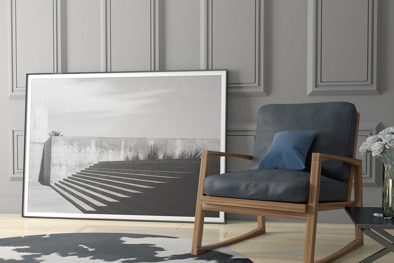 6款室内海报艺术品相片展示样机模板 Elegant Scene Mockups插图(1)