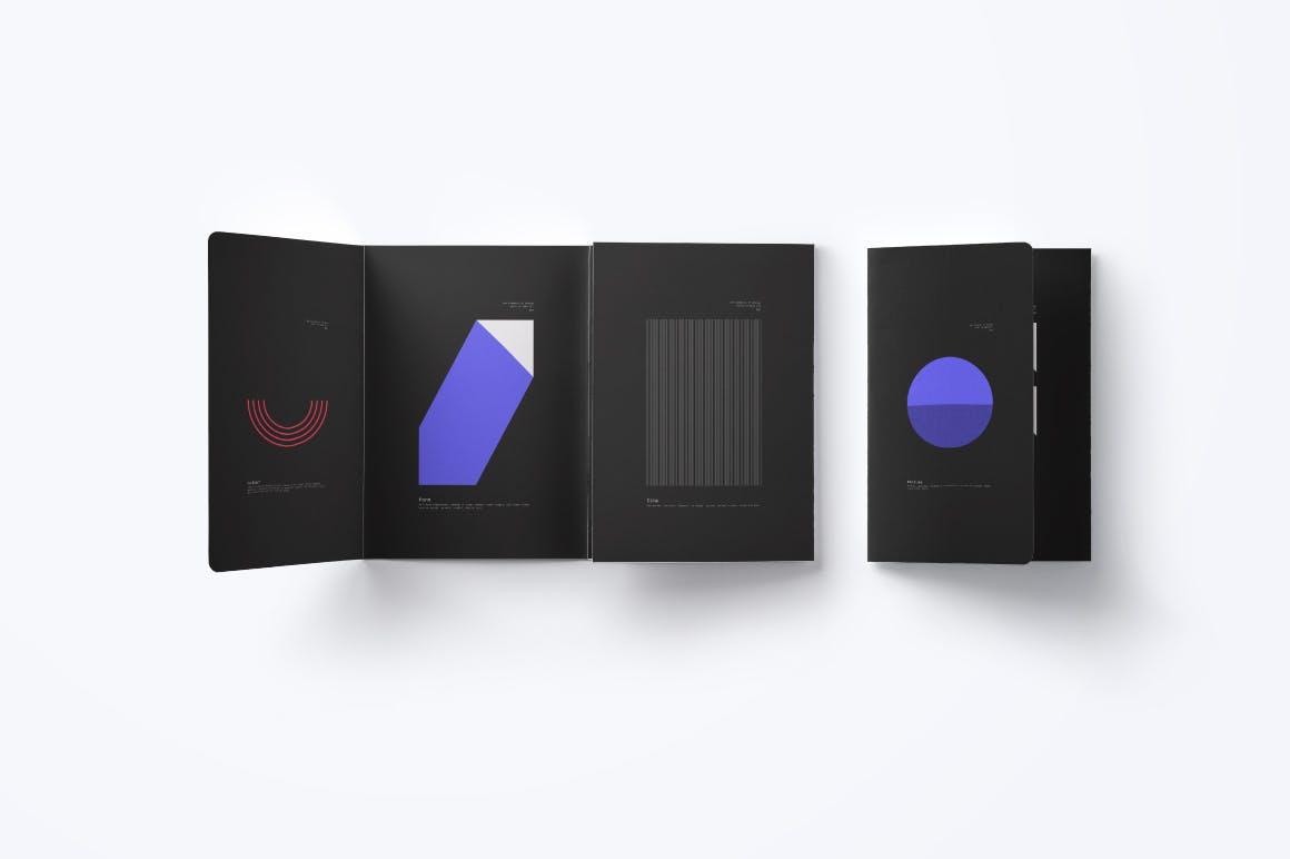 潮流几何图案元素海报设计矢量素材 The Elements Of Design插图(1)