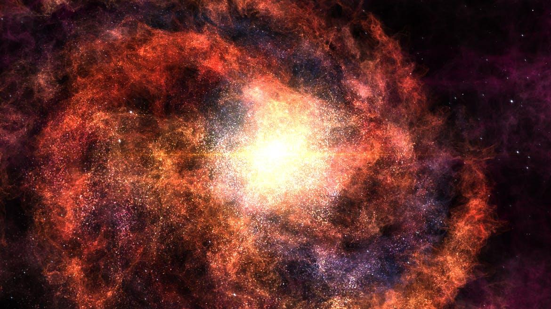 6张高清太空银河星云背景素材 Galaxy Backgrounds插图(1)