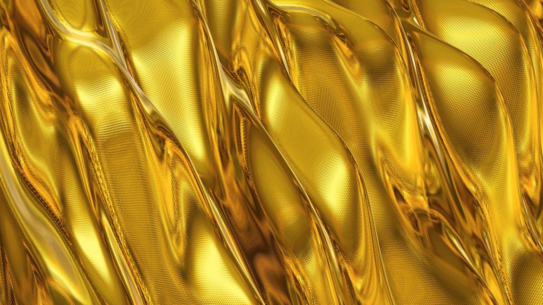 6款高清金色带纹理波浪背景素材 Gold Backgrounds插图(1)