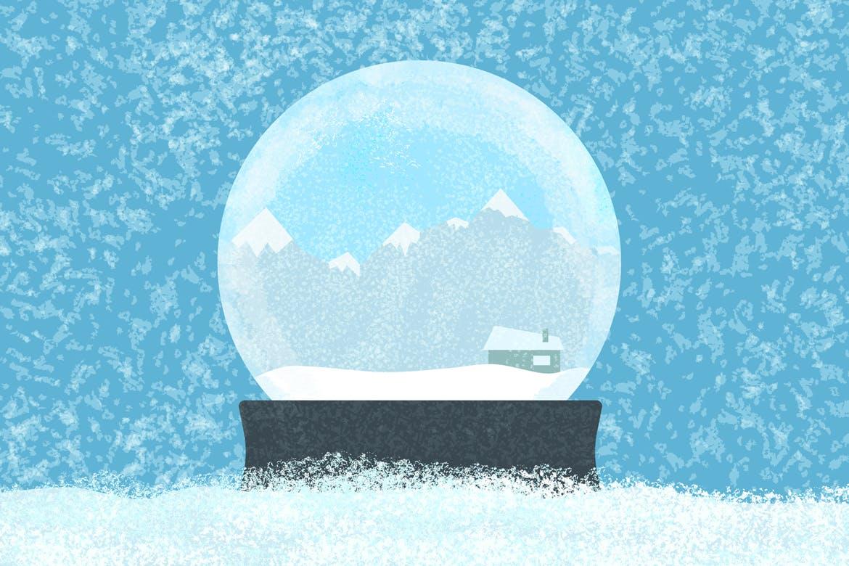 30个冬季雪花AI矢量笔刷素材 Snow And Winter Brushes For Adobe Illustrator插图(1)