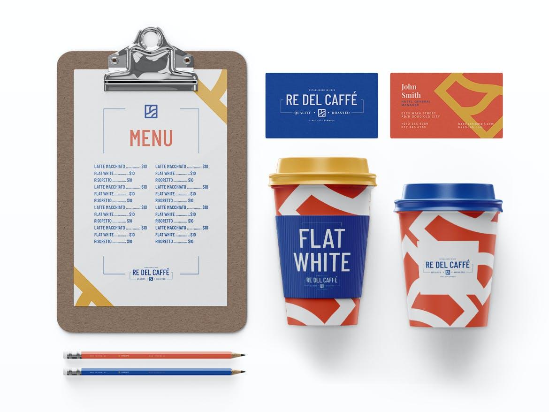 高端咖啡品牌VI设计展示样机模板 Coffee Branding Mockup Pack插图(1)