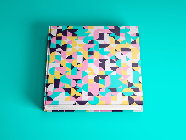 70种彩色几何艺术图案背景素材包 70 Geometric Colorful Art Patterns Pack插图(1)