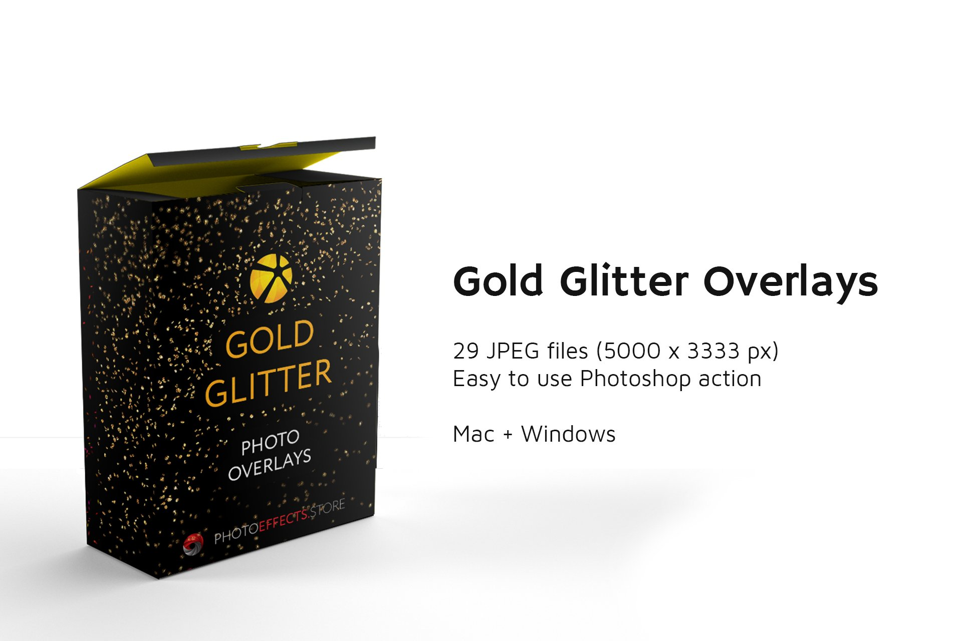 33款高清吹闪光照片叠加层JPG图片素材29 Blowing Glitter Photo Overlays插图(1)