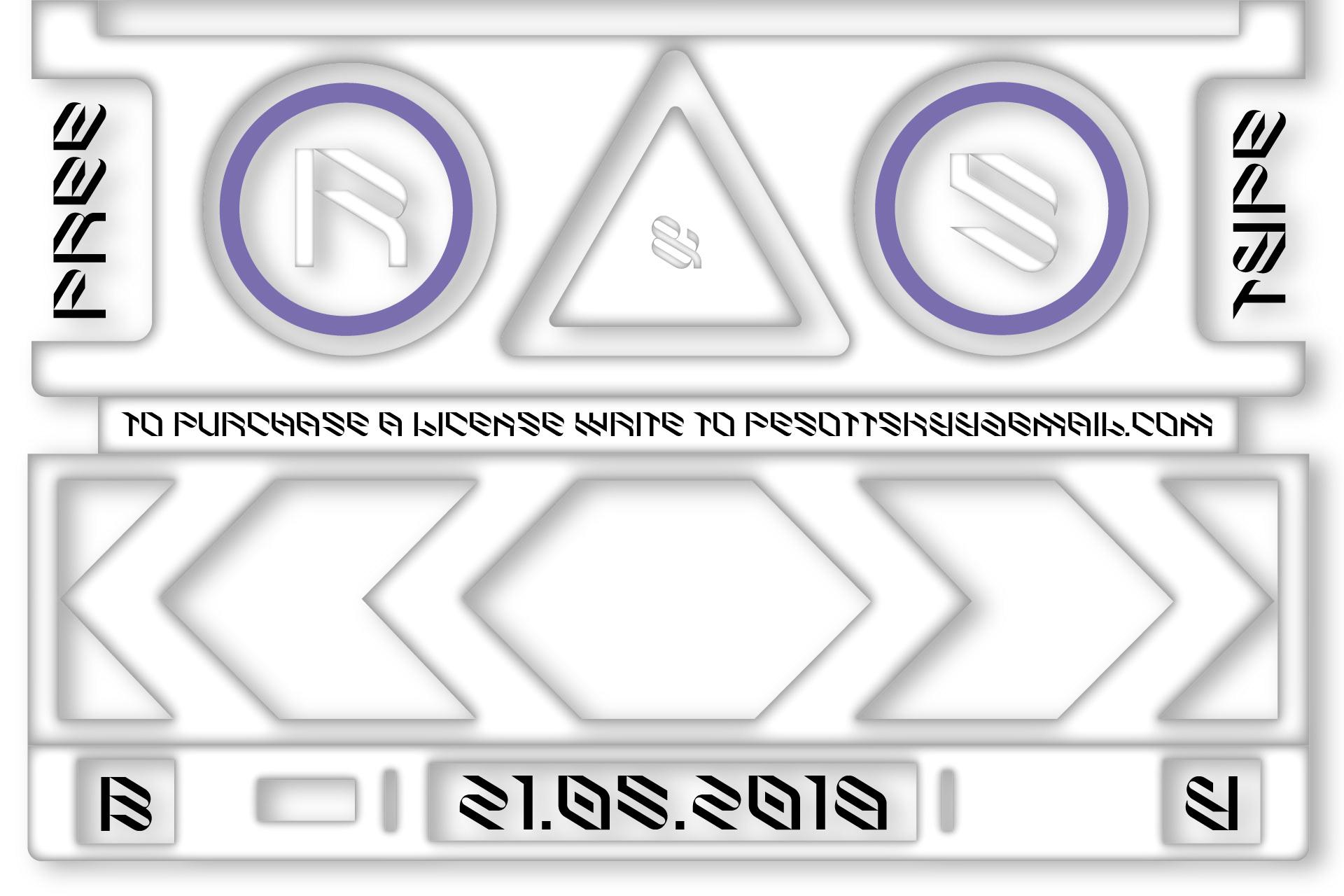 倾斜对角线英文字体下载 Eskos Typeface插图(22)