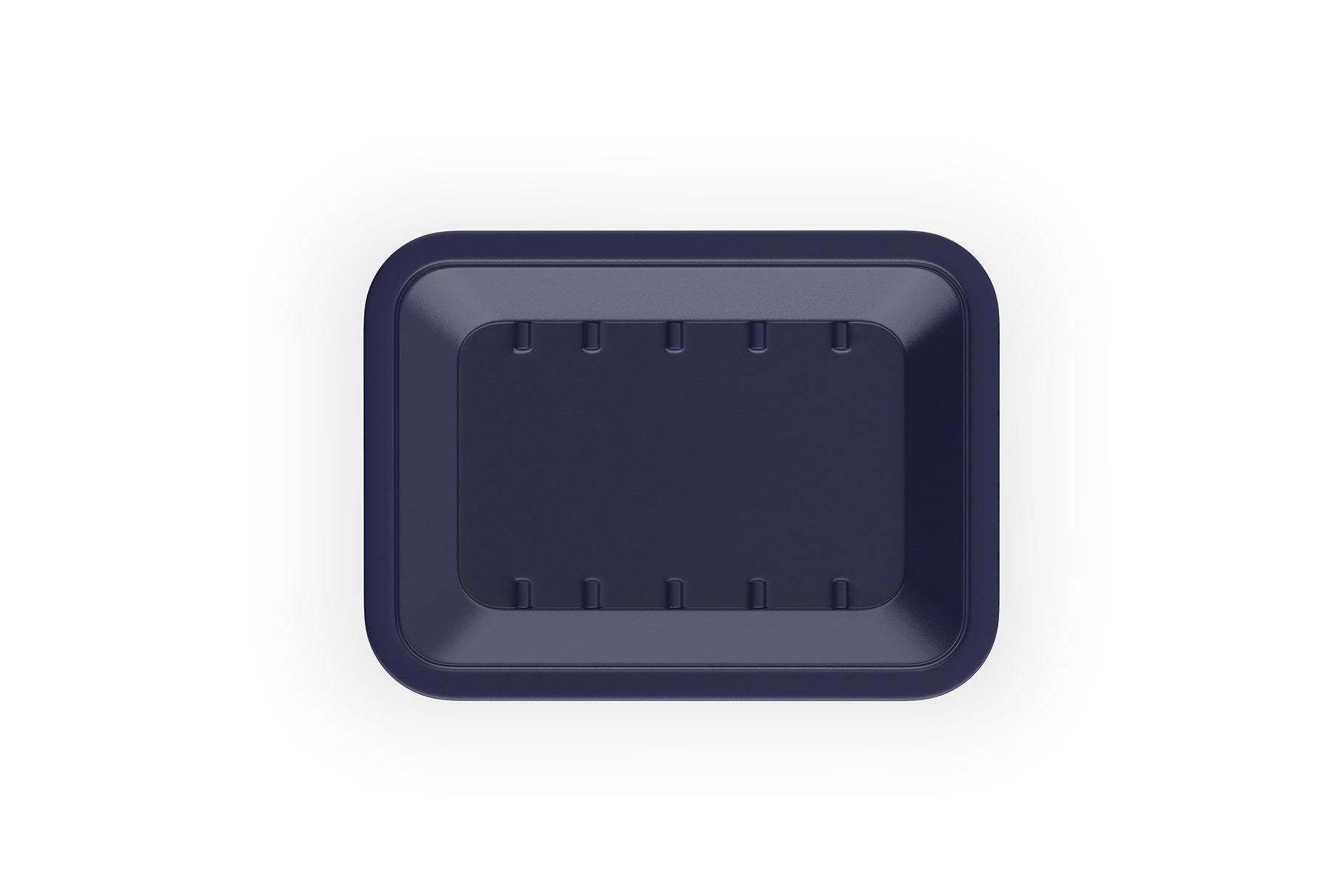 有机牛肉饼托盘设计展示样机 Organic Beef Cutlets Mockup插图(2)
