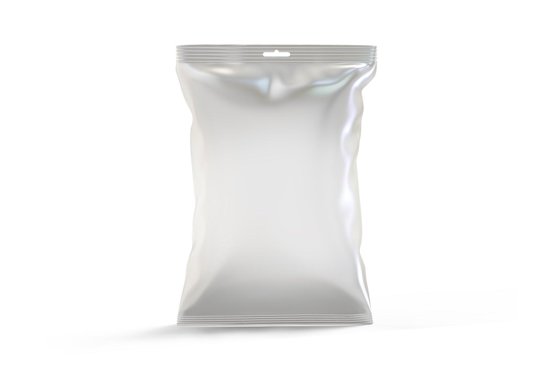 食品小零食塑料袋包装设计展示样机 Snack Mockup插图(2)