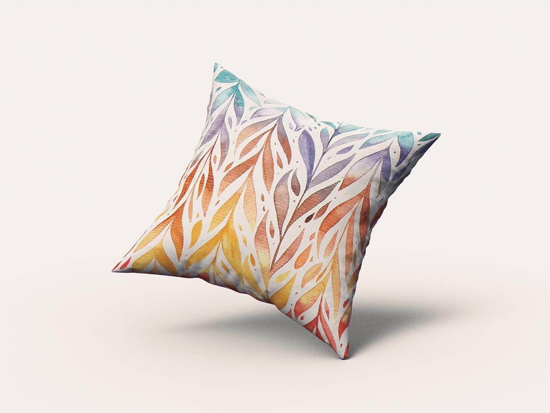 9款方形抱枕枕头靠垫设计展示样机 Square Pillow / Cushion MockUp插图(2)